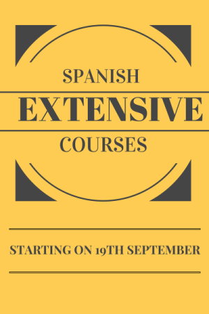 Extensive Regular Spanish Courses in Sitges